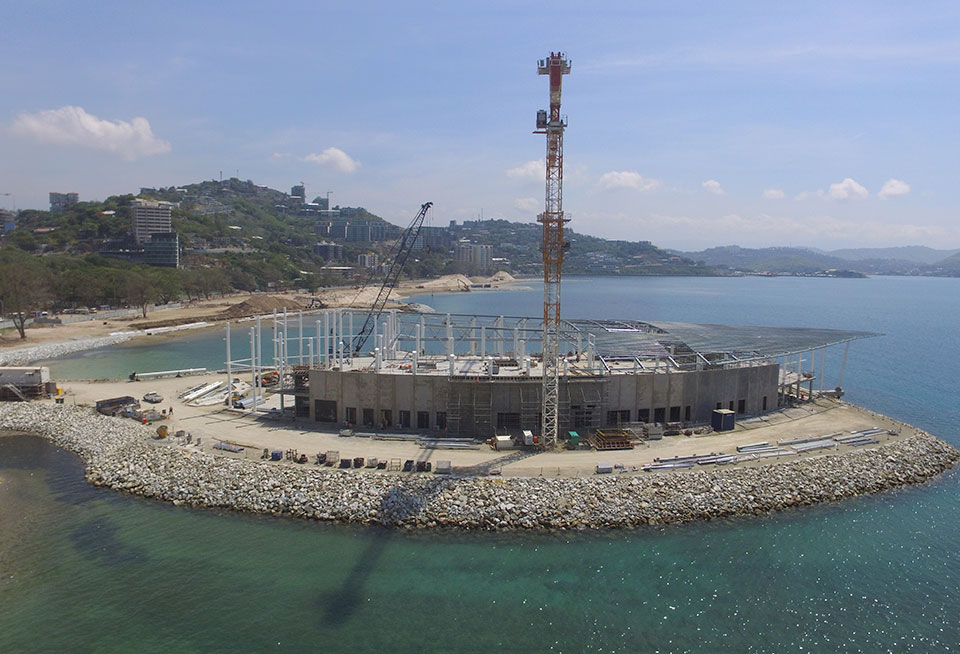 APEC Haus 2018 Construction