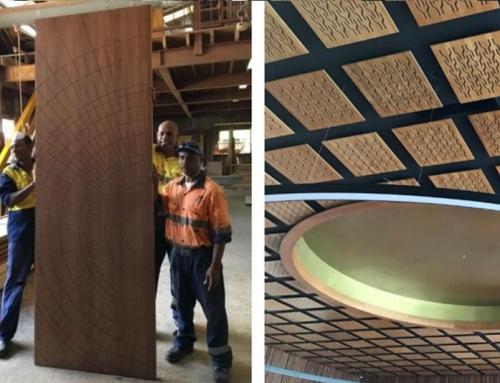 APEC Haus – Leaders Meeting Room Doors, Ceiling Tiles and Tapa Operable walls